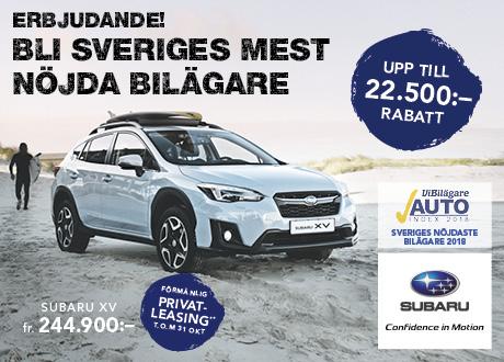 Bli Sveriges mest nöjdaste bilägare – Subaru XV