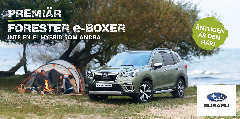 Subaru Forester e-Boxer – Inte en elhybrid som andra