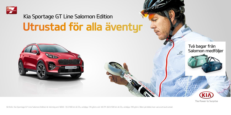 Kia Sportage GT Line Salomon Edition-utrustad för alla äventyr