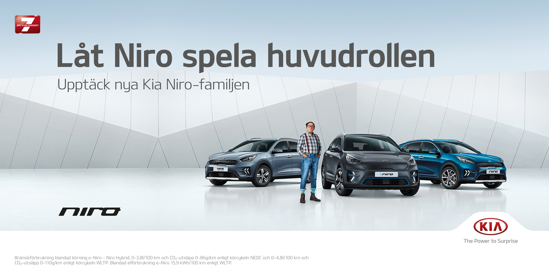 Upptäck nya Niro hybrid