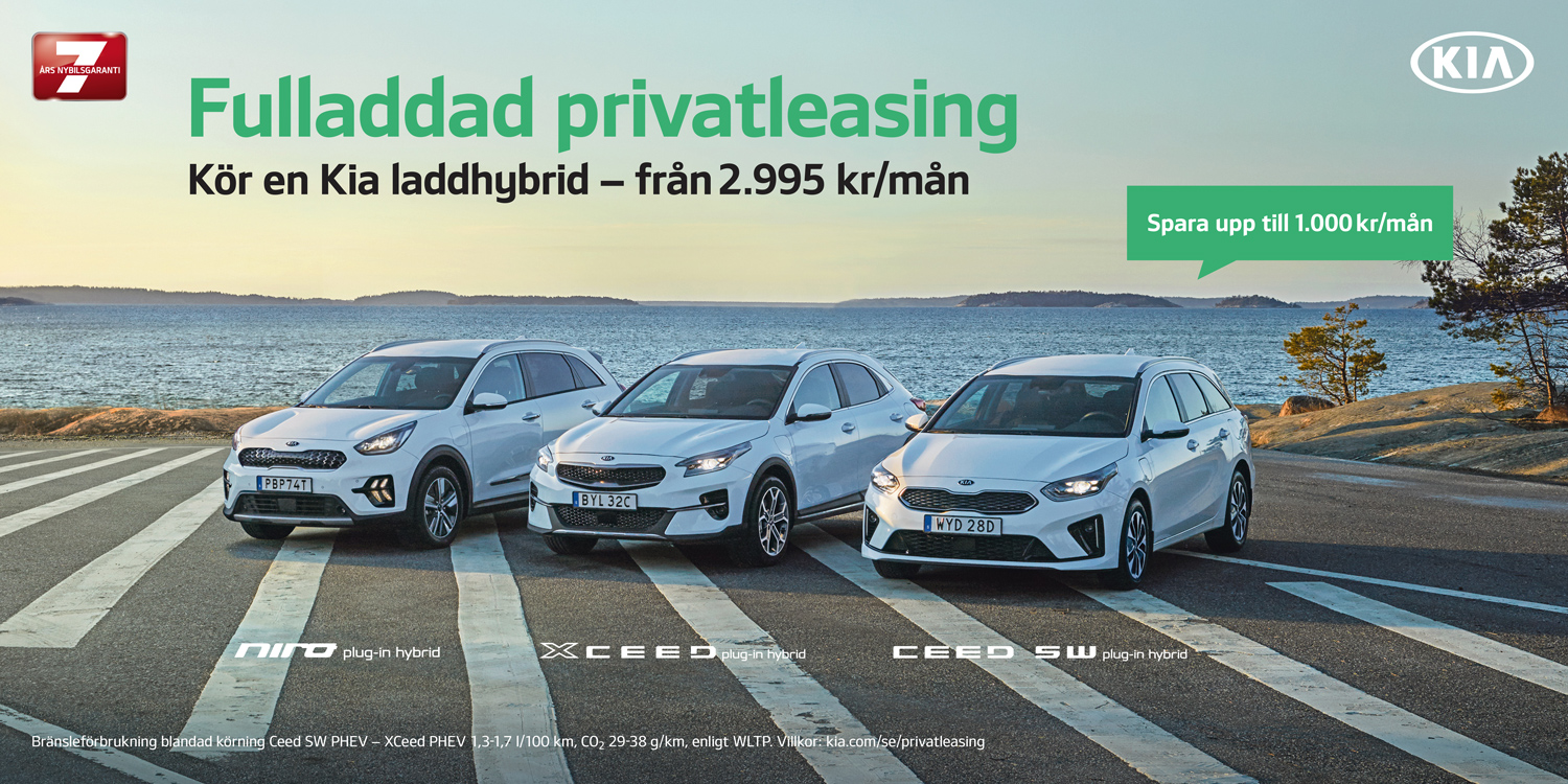 Fulladdad Kia Privatleasing