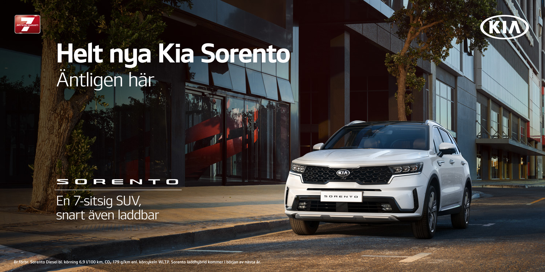 TB Bil i Nyköping presenterar helt nya Kia Sorento
