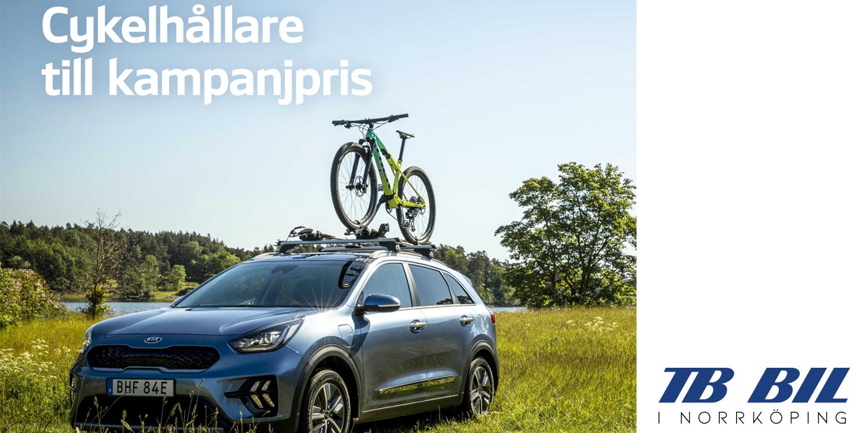 Cykel och Lasthållare till kampanjpris