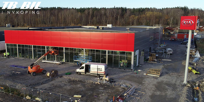 TB Bil närmar sig flytt till ny anläggning i Nyköping