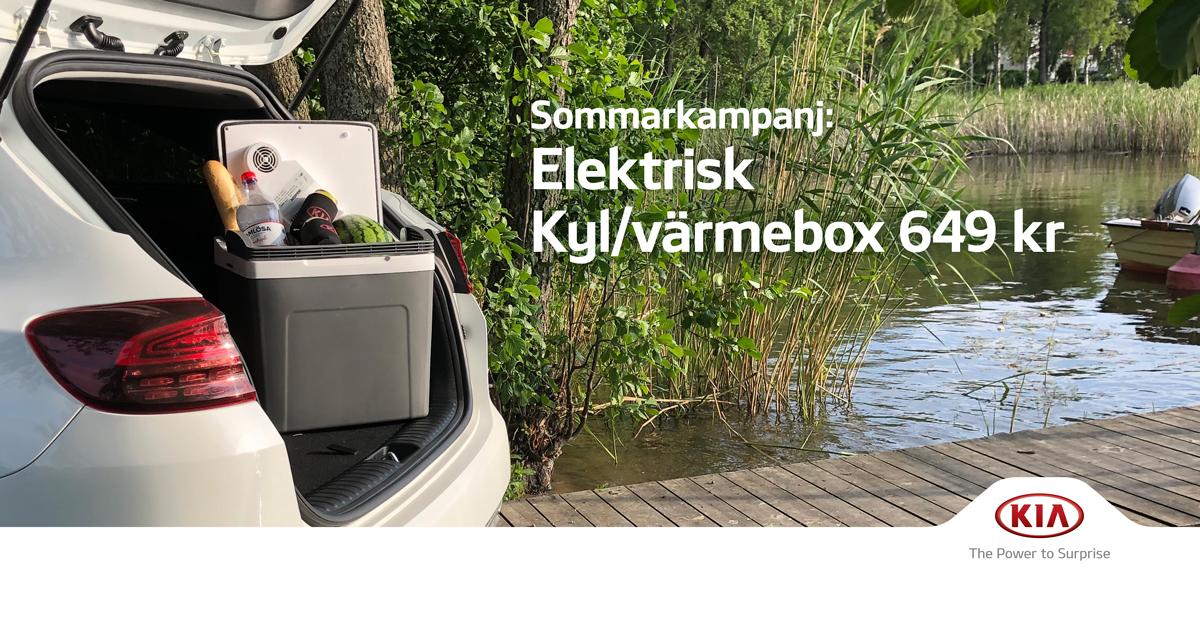 Elektrisk kyl/värmebox till kampanjpris