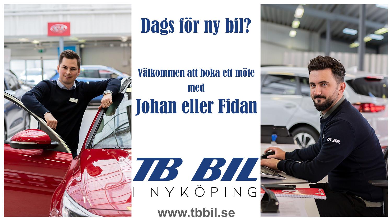 Boka ett möte med Johan eller Fidan