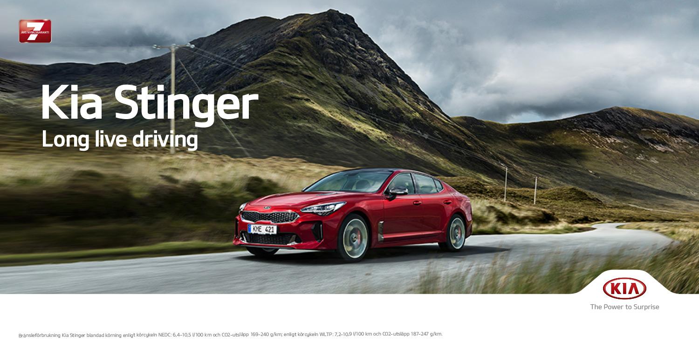 Kia Stinger – i klassisk Gran Turismo anda
