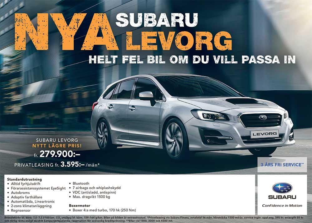 Nya Subaru Levorg