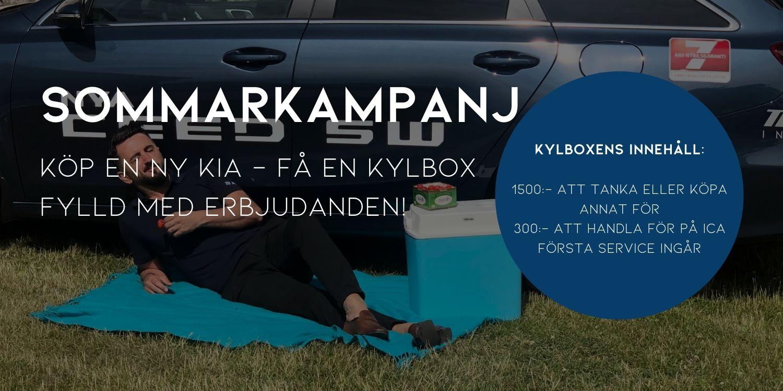 Köp en ny Kia – Få en Kylbox fylld med erbjudanden!