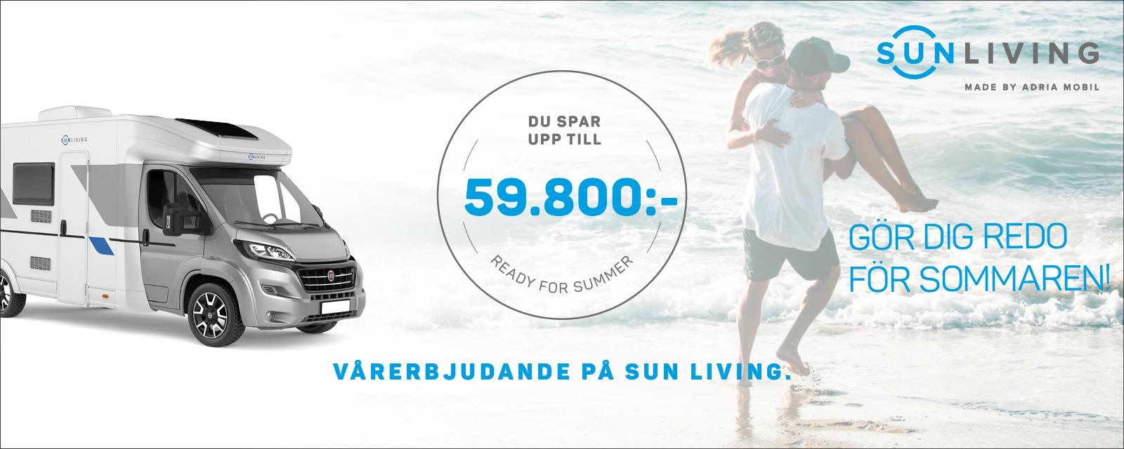 Gör dig redo för sommaren med Sun Living!